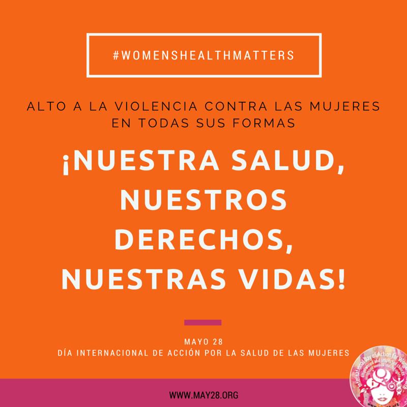 May 28 Slogan SPANISH
